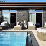 Dream house for sale with luxury pool and river life hidden in the courtyard 16