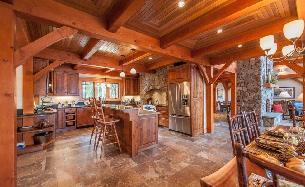 The rustic country style