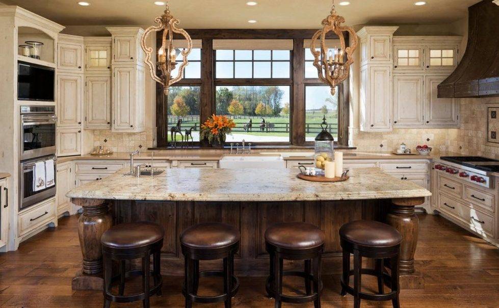 area in country kitchen