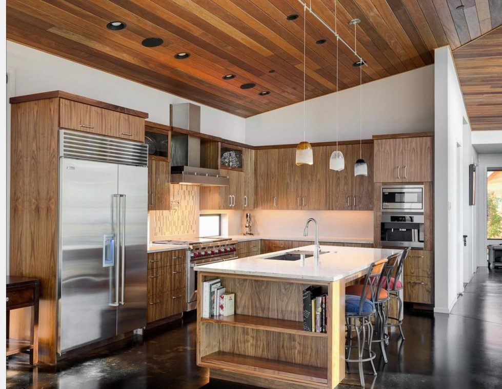 country style in the kitchen design