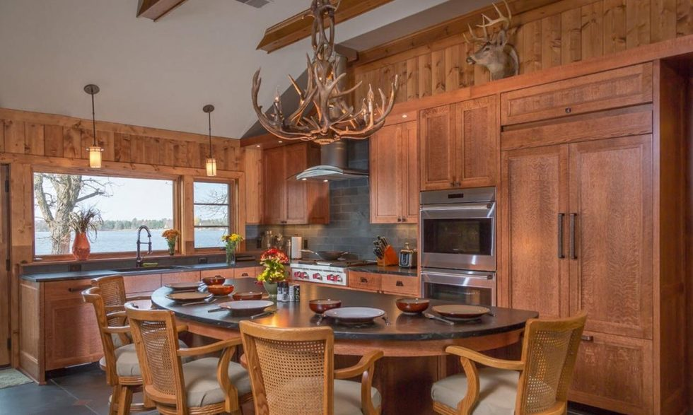 kitchen design in the country style photos
