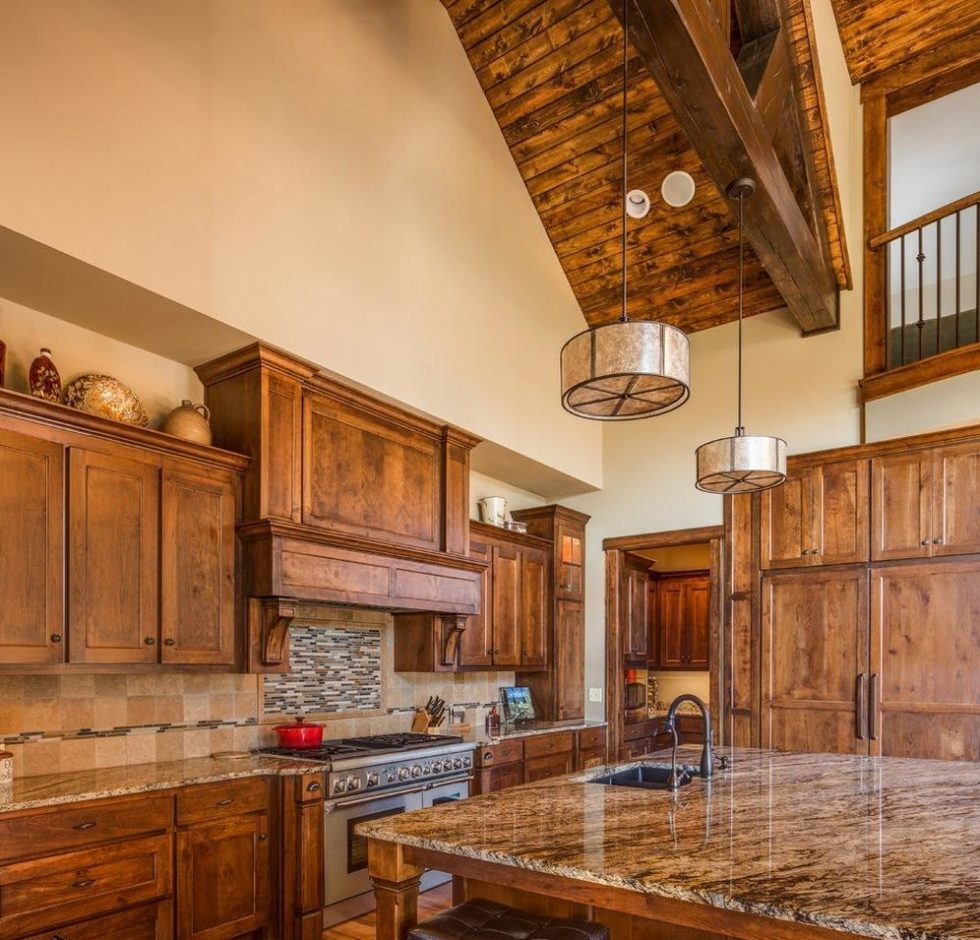 kitchen design in the country style pictures