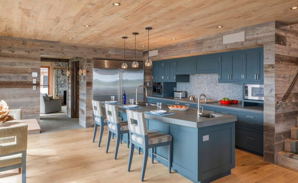 materials for kitchen in country style