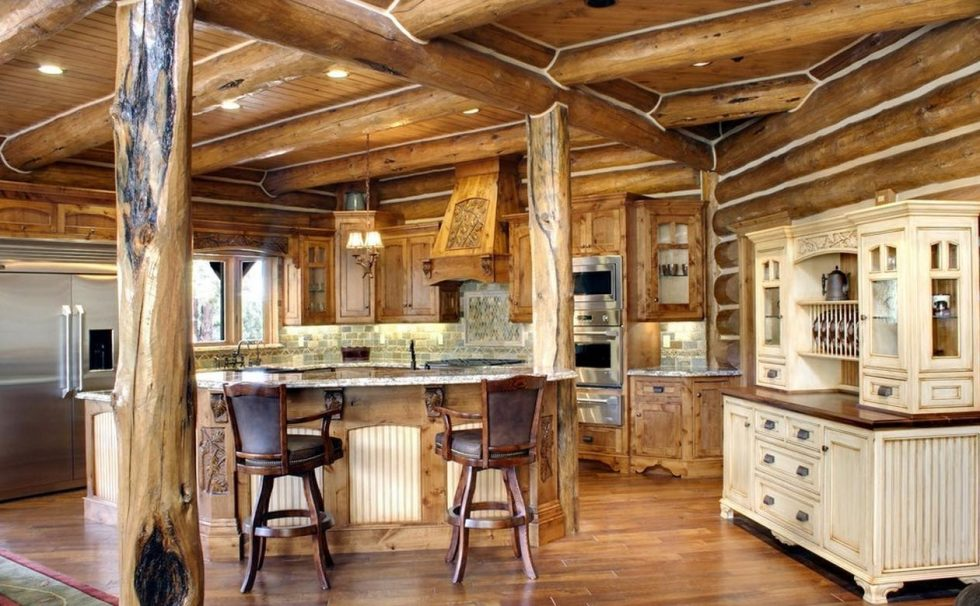 rough details in country style