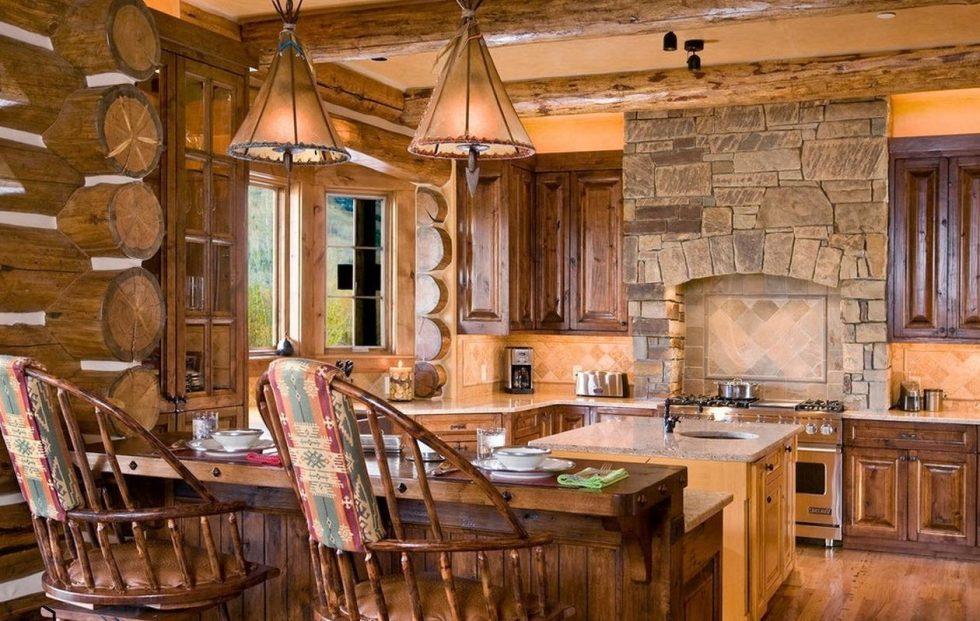 stone finishing ideas for kitchen